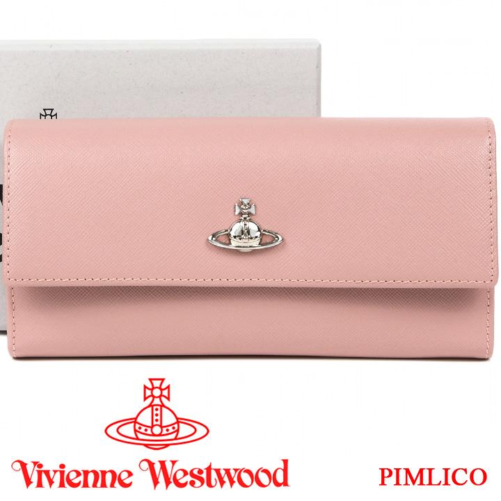 ヴィヴィアンウエストウッド 長財布 ヴィヴィアン Vivienne Westwood レディース 財布 ピンク 51060022 PIMLICO PINK 19SS 【あす楽】【送料無料】