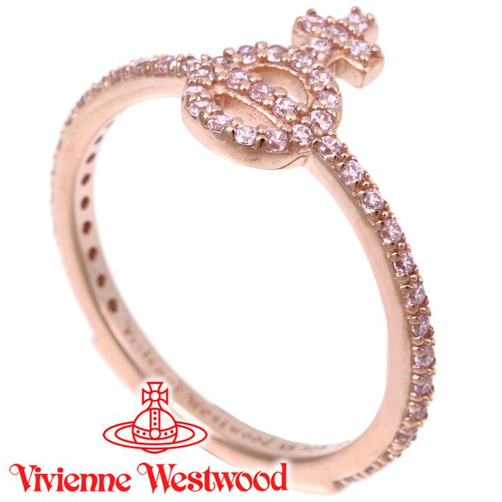 ヴィヴィアンウエストウッド リング 指輪 レディース Vivienne Westwood ヴィヴィアン ウィルバリング ピンクゴールド SR626812/3 【あす楽】【送料無料】