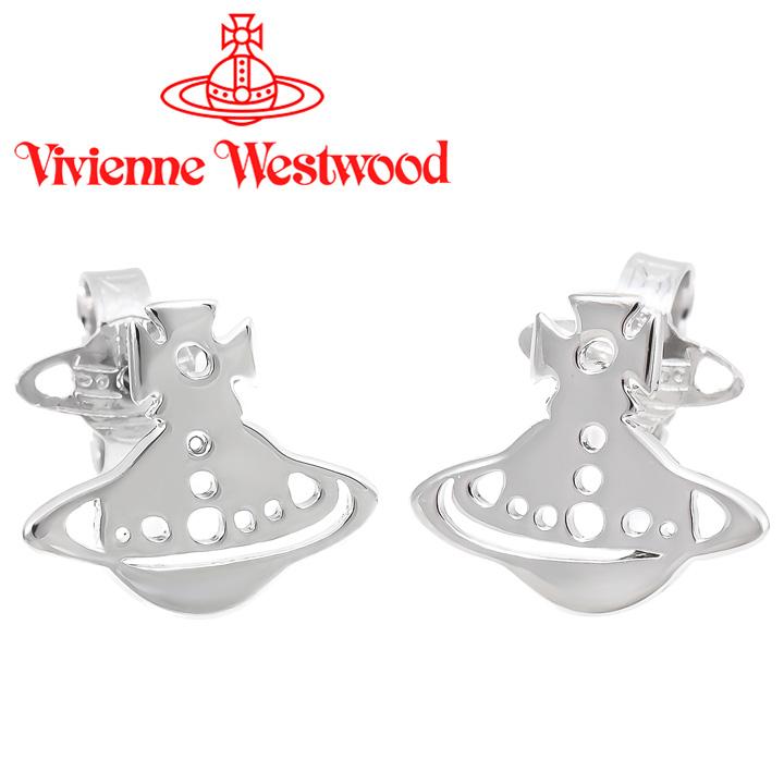 ヴィヴィアンウエストウッド ピアス レディース Vivienne Westwood ヴィヴィアン イエニピアス シルバー BE1509/2 【あす楽】【送料無料】
