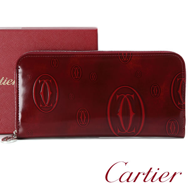 info for 03281 f47b2 卡地亞長錢包Cartier錢包快樂誕生日女士L3001283