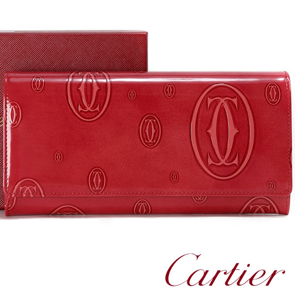 super popular dc099 9b5c7 卡地亞長錢包Cartier錢包快樂誕生日女士L3001252