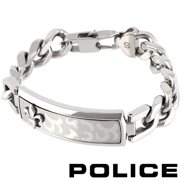 ポリス ブレスレット ブラック メンズ POLICE EMPEROR 24656BSS01 【バレンタイン】