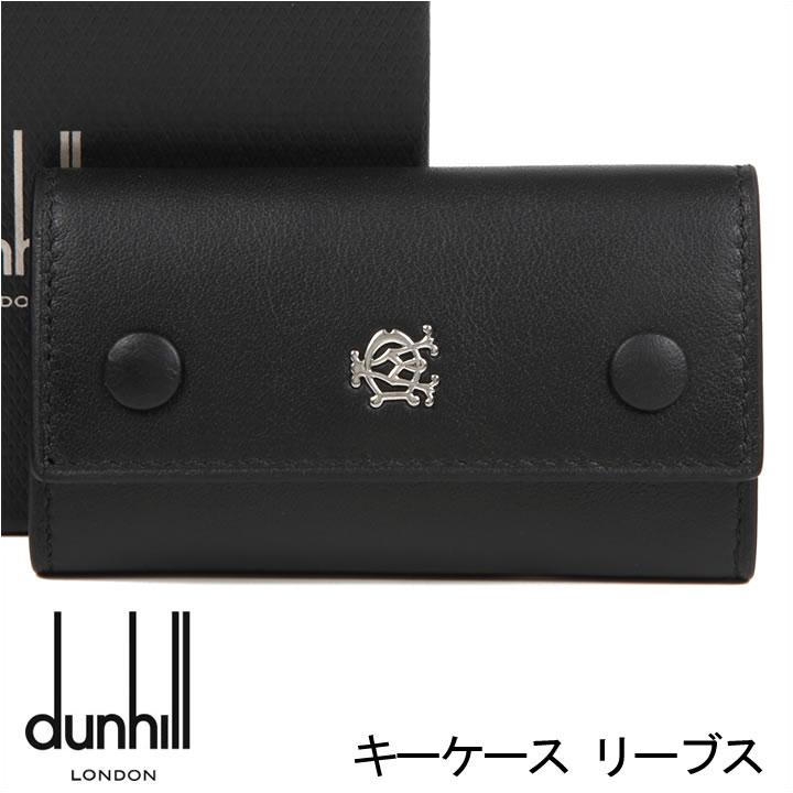 ダンヒル キーケース DUNHILL 6連キーケース キーホルダー メンズ ブラック リーブス L2XR51A