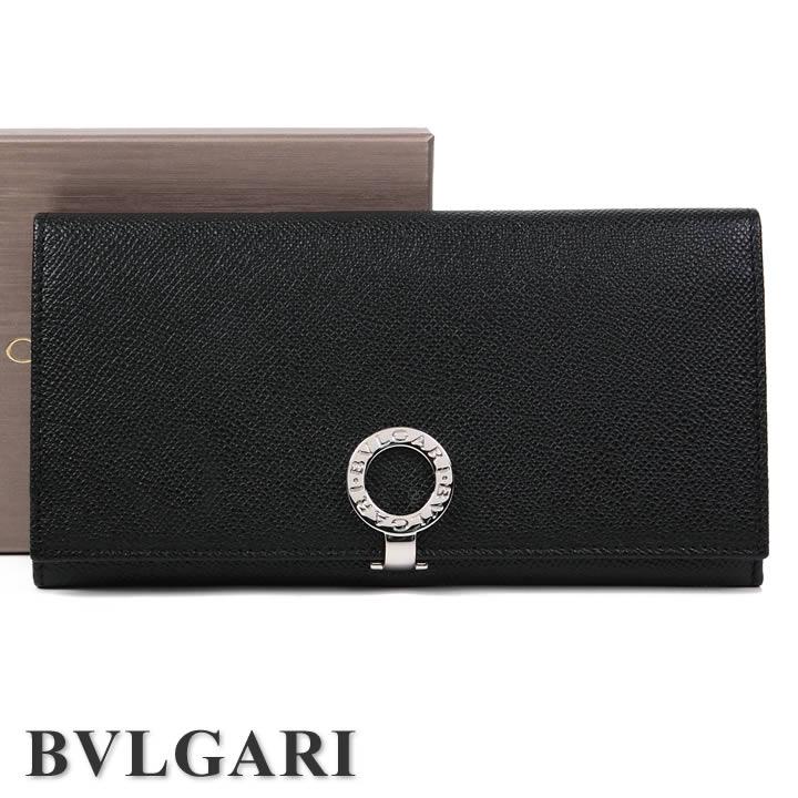 ブルガリ 長財布 BVLGARI 財布 ブルガリブルガリ メンズ レディース ブラック 30412 【あす楽】【送料無料】