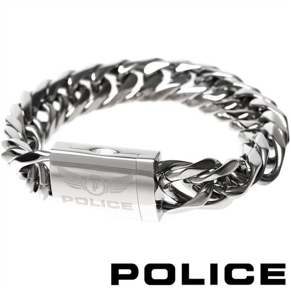 ポリス ブレスレット メンズ POLICE PROOF 25507BSS-S 【バレンタイン】
