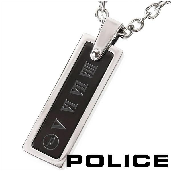 ポリス ネックレス プレートペンダント メンズ POLICE COLOSSEUM 25517PSU01 【送料無料】