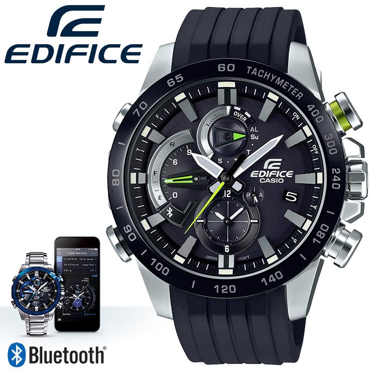 e1f9ba3ead カシオ エディフィス スマホ連動 モバイルリンク機能 ブラック EQB-800BR-1AJF CASIO EDIFICE Bluetooth