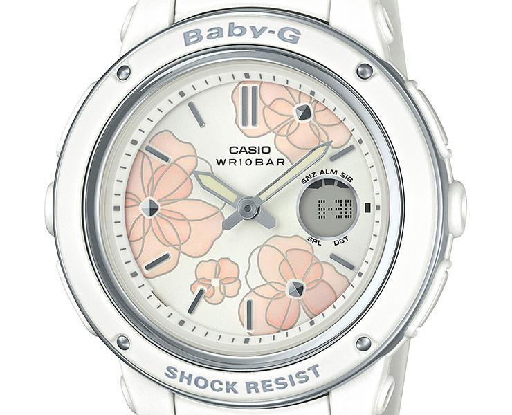 CASIO/カシオ BABY-G フローラルダイヤルシリーズ