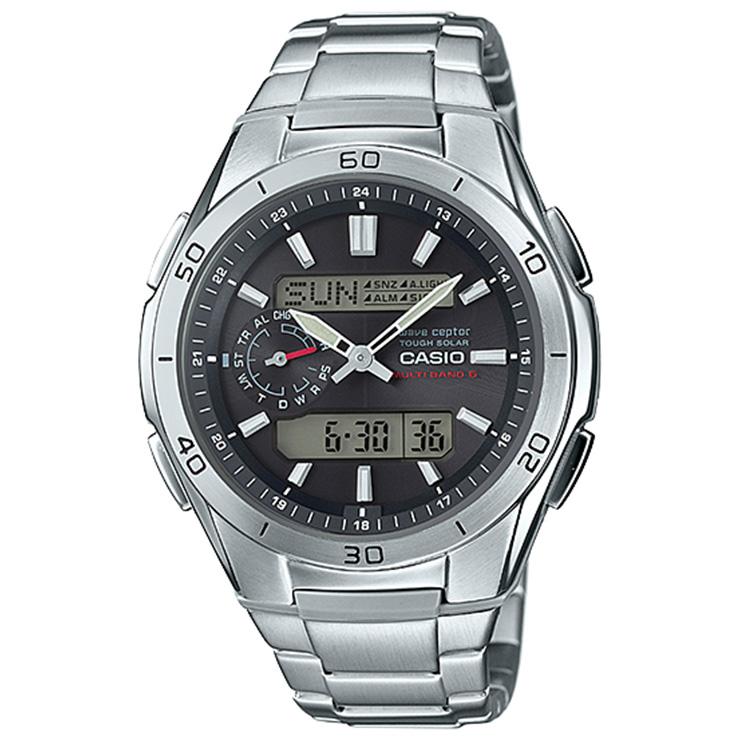 カシオ ソーラー電波時計 WVA-M650D-1AJF CASIO WaveCeptor ウェーブ・セプター メタルバンド マルチバンド6 アナログ デジタル メンズ 腕時計 【正規品/送料無料】【レビューで3年保証】【あす楽】【在庫あり】
