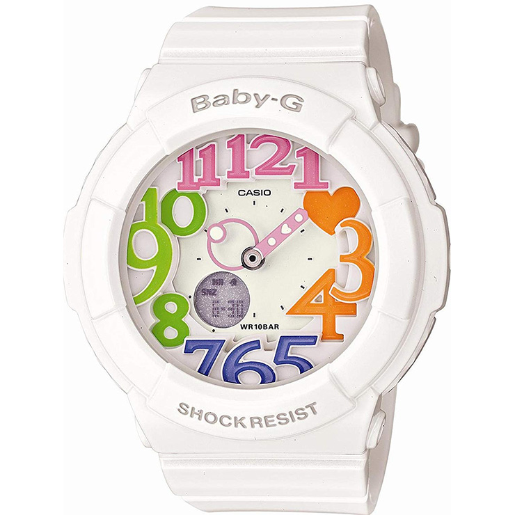 afdcce717524 iget: Baby-g baby G Casio CASIO BGA-131-7B3JF dial series neon black ...