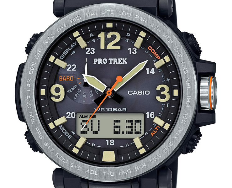 Iget casio proto lec prg 600 1jf triple sensor solar protrek casio solar direction altitude for Protos watches