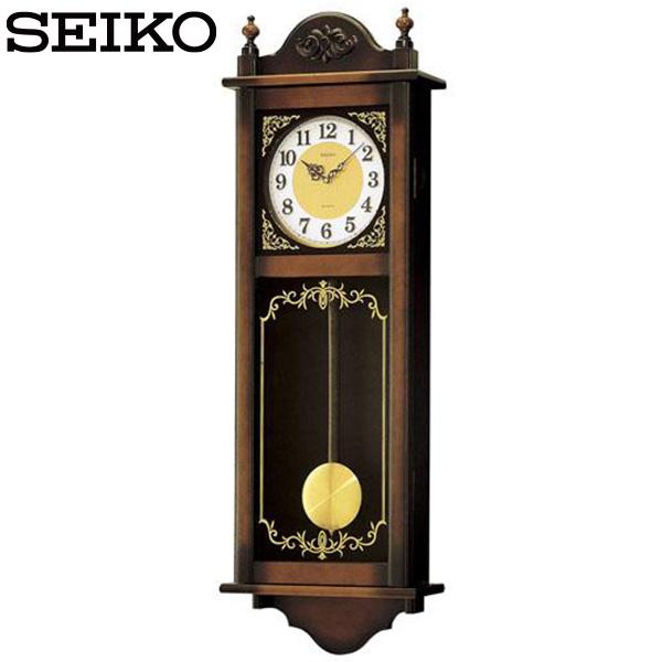 【掛け時計 柱時計 クオーツ】 RQ307A セイコークロック チャイム&ストライク 掛け時計 【30%OFF】【お取り寄せ】【柱時計】【02P03Dec16】