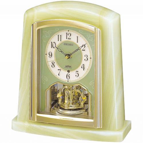 【電波時計 置き時計 オニキス】 BY223M セイコークロック 電波クロック オニキス枠 置き時計 【30%OFF】【お取り寄せ】【動画あり】 【02P03Dec16】