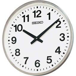 【掛け時計 屋外 クオーツ】 KH411S セイコークロック オフィスタイプ 屋外・JIS防雨型 大型 掛け時計 【30%OFF】【お取り寄せ】【02P13Dec14】