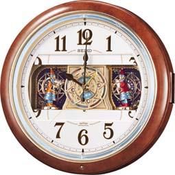 【からくり 掛 時計 電波 クロック メロディ】 電波 掛 時計 RE559H メロディ スイープ おやすみ秒針 電池切れ予告 セイコー SEIKO 【30%OFF】【お取り寄せ】 【02P26Mar16】