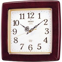 【掛け時計 電波時計 木枠】 RX211B セイコークロック 電波クロック チャイム&ストライク 掛け時計 【30%OFF】【お取り寄せ】【02P03Dec16】