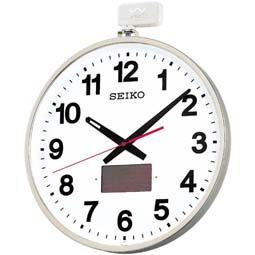 【掛け時計 電波時計 屋外 ソーラー】 SF211S セイコークロック 電波クロック オフィスタイプ ソーラー屋外用 掛け時計 【30%OFF】【お取り寄せ】【02P03Dec16】