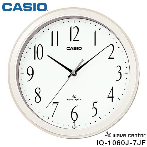卡西欧IQ-1060J-7JF CASIO电波挂钟钟表标准