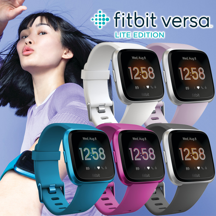 The waterproofing smart watch fitting bit Fitbit Versa light edition FB415  active mass android-adaptive iPhone-adaptive watch