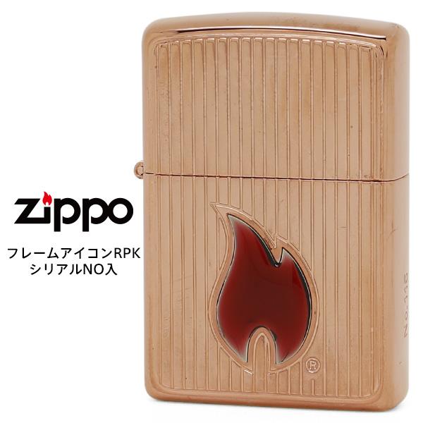 Zippo ジッポー ZIPPO フレームアイコン RPK 200FBベース エッチング シリアルNo入  【在庫あり】