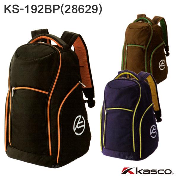 キャスコ バックパック 軽量タイプ KS-192BP (28629) kasco ゴルフバッグ リュック ブラック ネイビー 送料無料 離島沖縄等除く