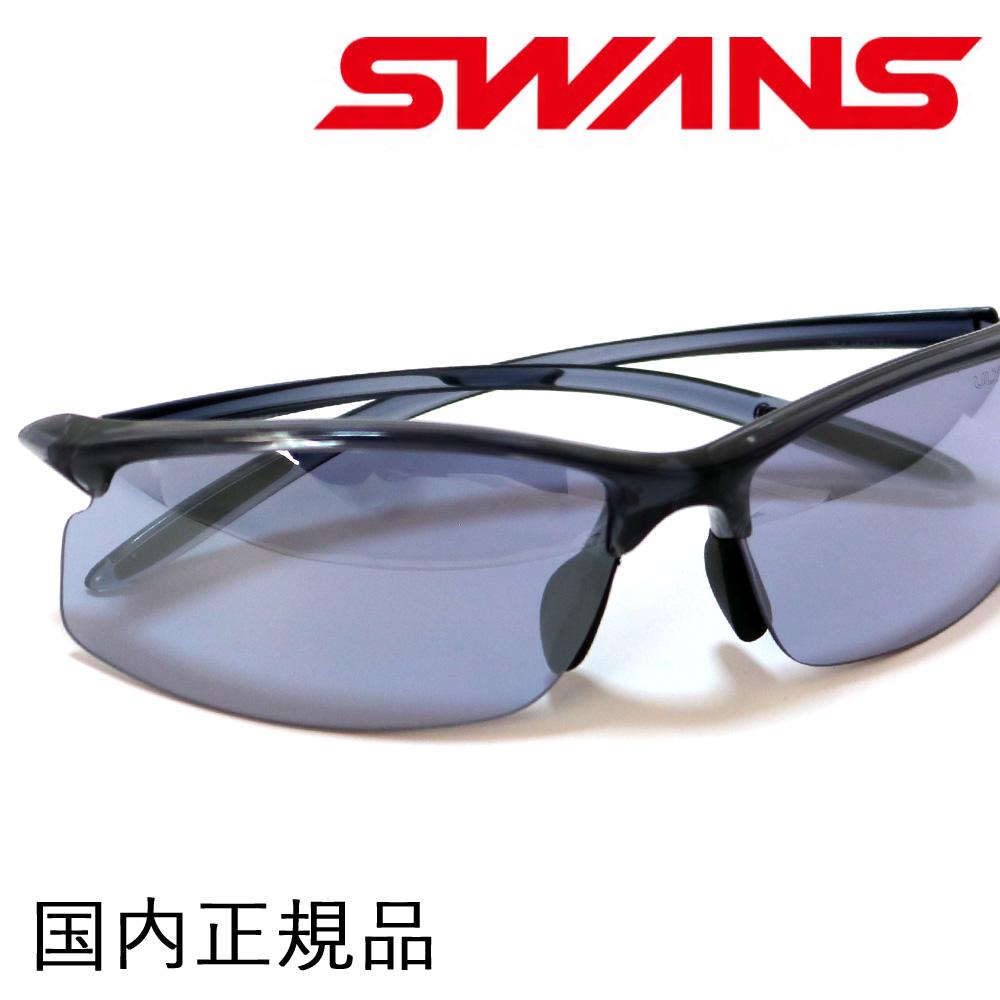 SWANS スワンズ エアレス・ムーブ SAMV-0714(CSK) Airless-Move ウルトラレンズ クリアスモーク アイスブルー UVカット ミラーコート サングラス ゴルフに最適 紫外線カット 紫外線予防 メンズ 男性用 プレゼント