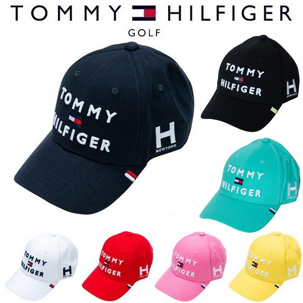 トミーヒルフィガー ゴルフ キャップ トミー ヒルフィガー TOMMY LOGO チープ メンズ TRIPLE GOLF THMB903F HILFIGER 直輸入品激安