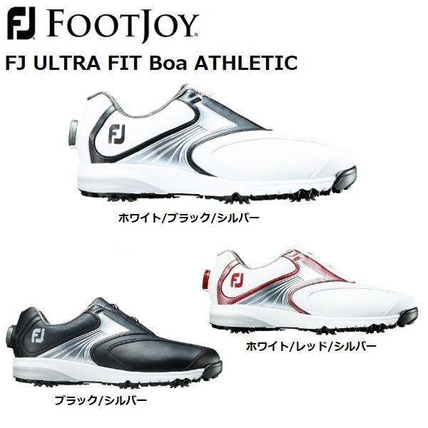 フットジョイ ゴルフシューズ ウルトラフィット アスレ FOOTJOY ULTRA FIT ATHLETIC ソフトスパイク メンズ 日本正規品 (54133)(54136)(54147)