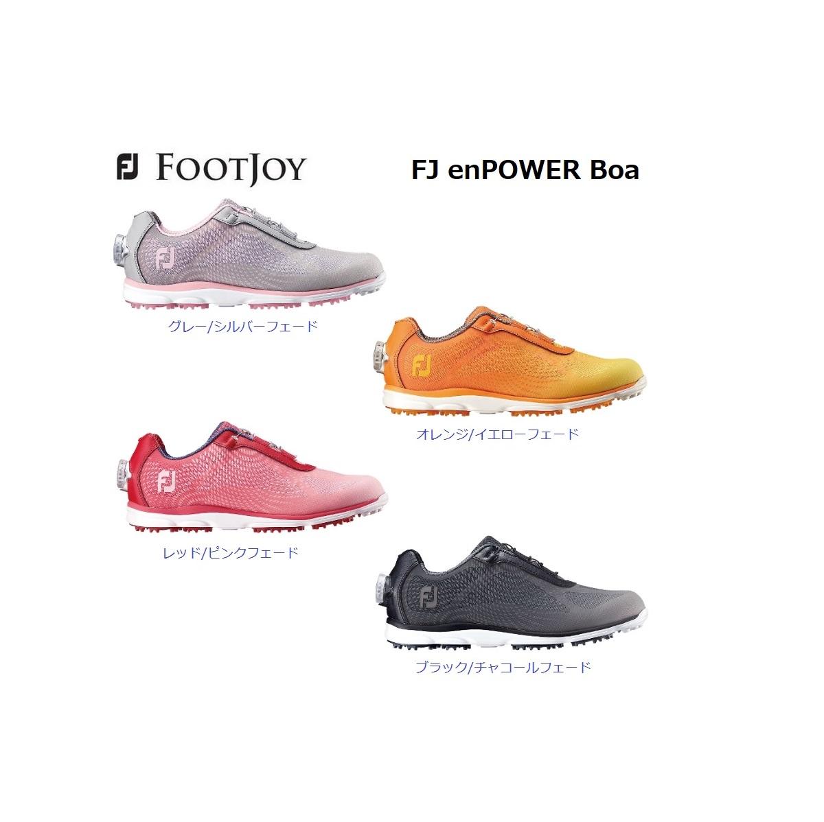 レディース フットジョイ ゴルフシューズ エンパワー ボア スパイクレス FOOTJOY emPOWER Boa 日本正規品 (98006)(98008)(98009)(98010)
