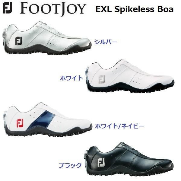 フットジョイ ゴルフシューズ メンズ イーエックスエル スパイクレス ボア FJ EXL Spikeless Boa 2018 日本正規品 (45180)(45181)(45182)(45184)