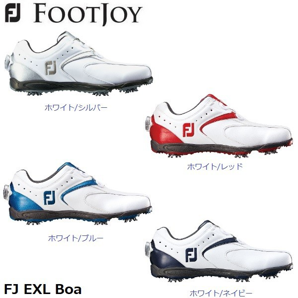 ボア (45140)(45141)(45144)(45168) ゴルフシューズ EXL フットジョイ イーエックスエル メンズ 2016 Boa FOOTJOY 日本正規品
