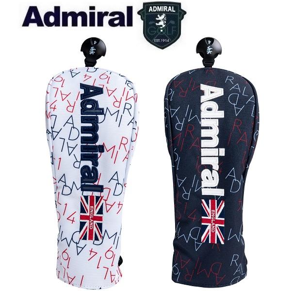 Admiral 予約 Golf UT用 アドミラル ゴルフ モノグラム SALENEW大人気! ADMG1BH3 ヘッドカバー ユーティリティ用