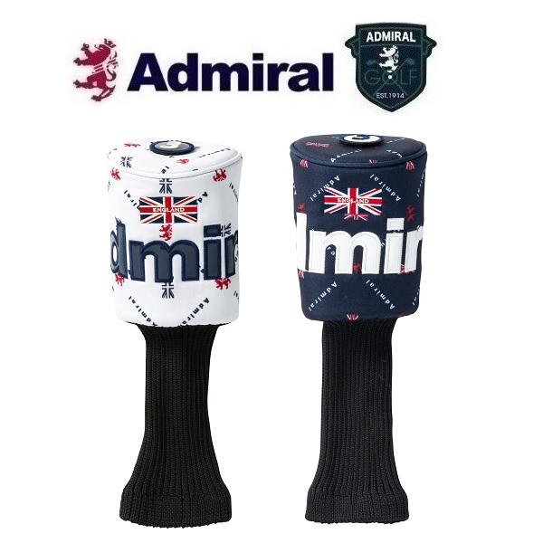 買い取り Admiral Golf FW用 保証 200cc対応 アドミラル モノグラム ADMG0FH2 フェアウェイウッド用 ゴルフ ヘッドカバー