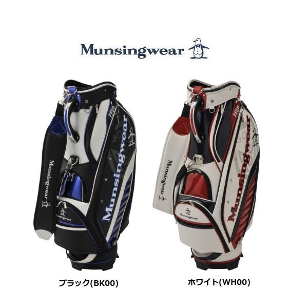 マンシングウェア ゴルフ キャディバッグ MQBNJJ03 9.5型 Munsingwear 2019年モデル