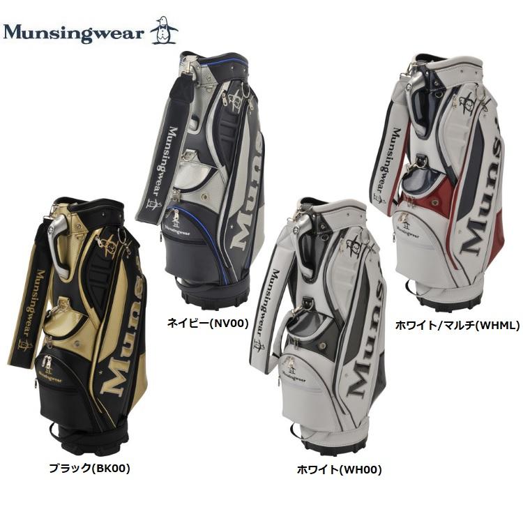 マンシングウェア ゴルフ キャディバッグ MQBNJJ04 9.5型 Munsingwear 2019年モデル