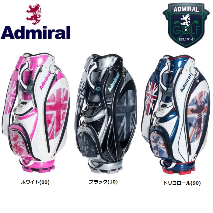 アドミラル ゴルフ Admiral Golf レンチキュラー キャディバッグ ADMG8SC1 2018