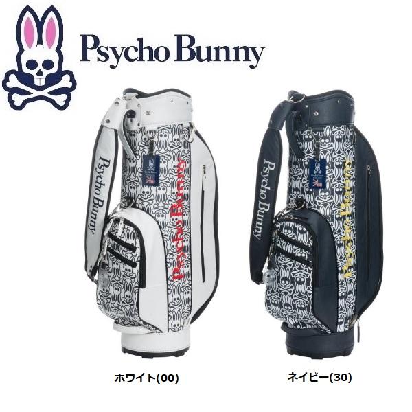 サイコバニー PsychoBunny ゴルフ S/B モノグラム キャディバッグ PBMG8SC5