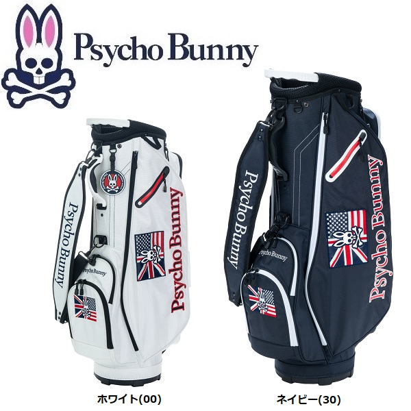 サイコバニー PsychoBunny WIT S/B ゴルフ キャディバッグ PBMG9SC4 2019年モデル