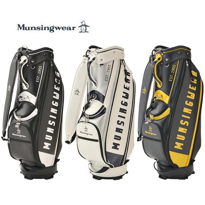 マンシングウェア ゴルフ キャディバッグ  マンシングウェア ゴルフ キャディバッグ 9.5型大口径 軽量キャディバッグ MQBPJJ05 Munsingwear 2020年モデル