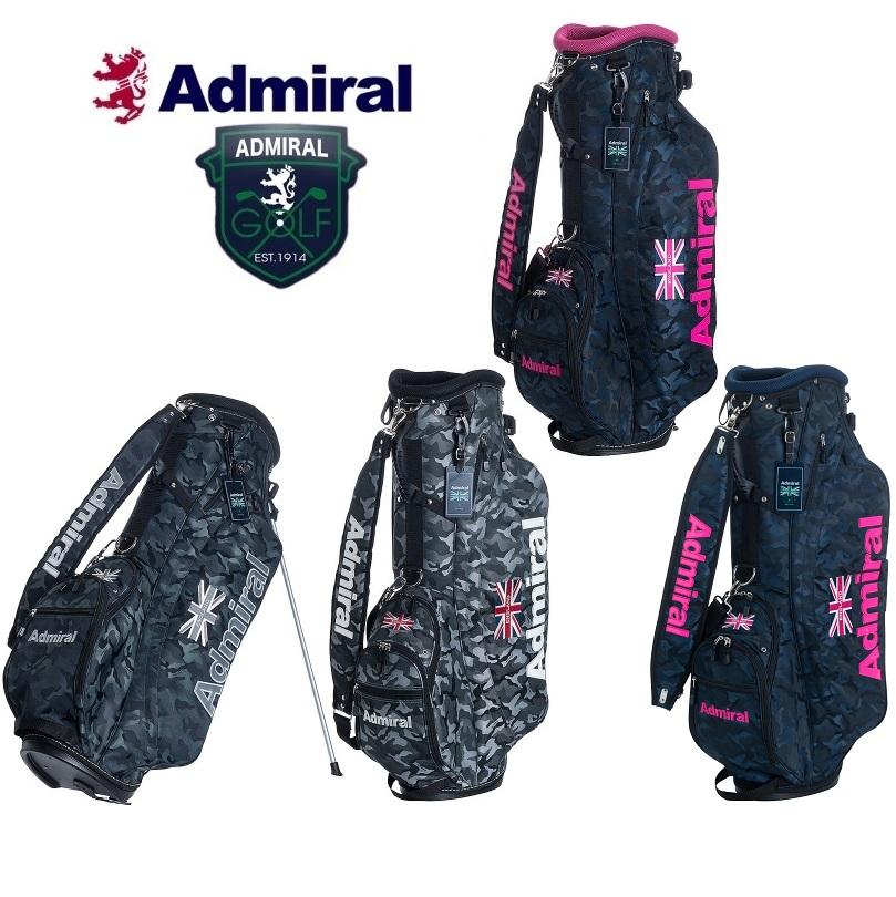 アドミラル ゴルフ Admiral Golf カモジャガード柄 スタンド キャディバッグ ADMG8SC9