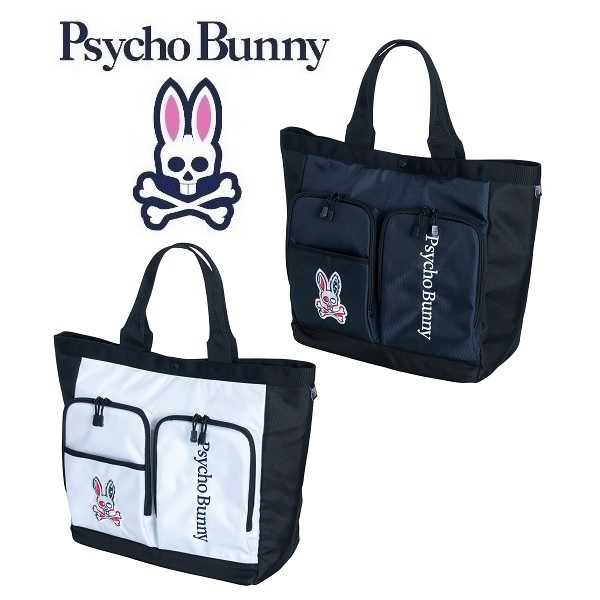 サイコバニー Psycho Bunny WIT S/B GOLF トートバッグ PBMG9FB5