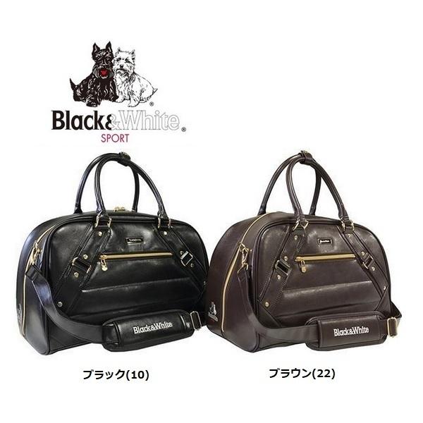 ブラック&ホワイト Black&White クラシックボストンバッグ BWMG7BBA