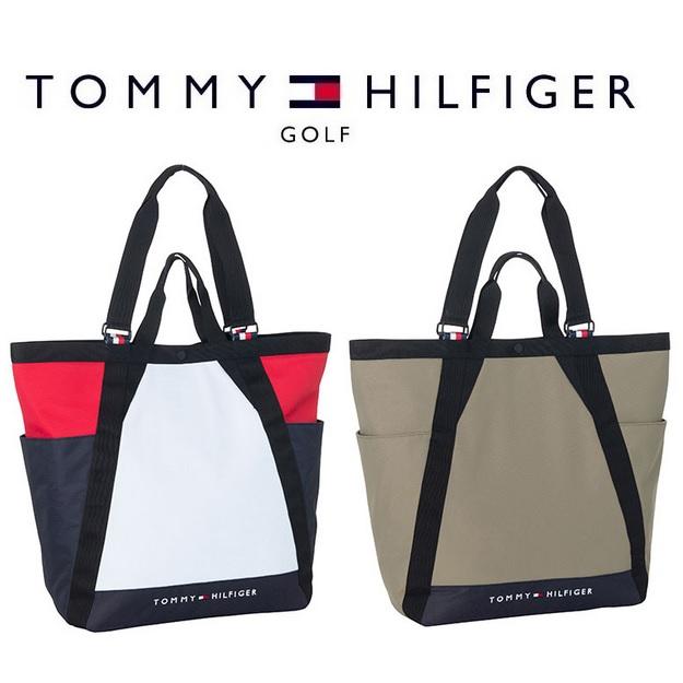 トミー ヒルフィガー ゴルフ TOMMY HILFIGER GOLF CRAZY COLOR TOTE BAG トート バック THMG9FB5 2019年秋冬モデル