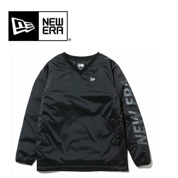 ニューエラ NEWERA ゴルフ ウィンド プルオーバージャケット NEW ERA ロゴ ブラック 12108266 日本正規品 2019年秋冬モデル