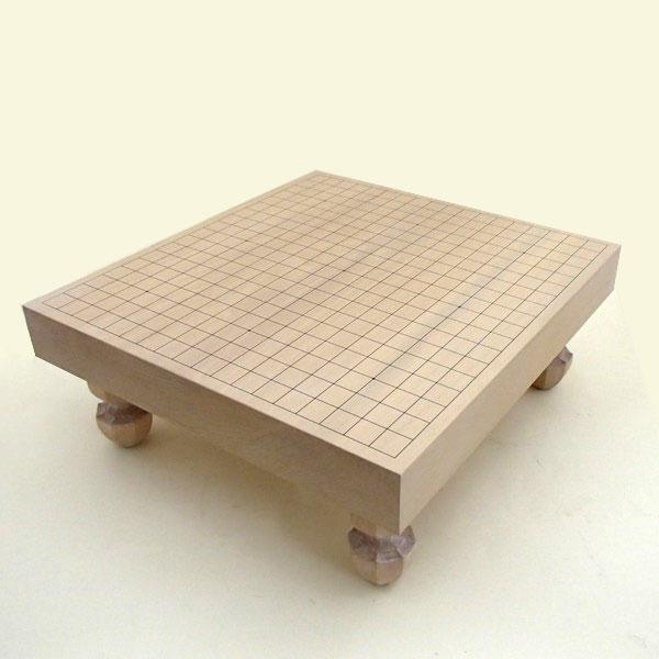 碁盤 北海道産 本桂 2寸足付接合碁盤 竹