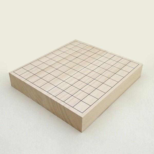 木製将棋盤 ヒバ2寸卓上接合将棋盤 松