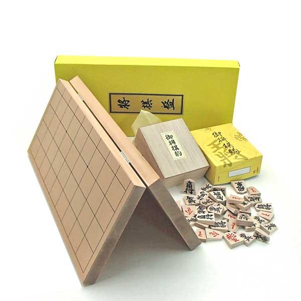 お子様のために特別提供品 木製将棋盤セット 新桂7号折将棋盤とくっきり太字の木製特選将棋駒 OUTLET SALE 裏赤 日本未発売