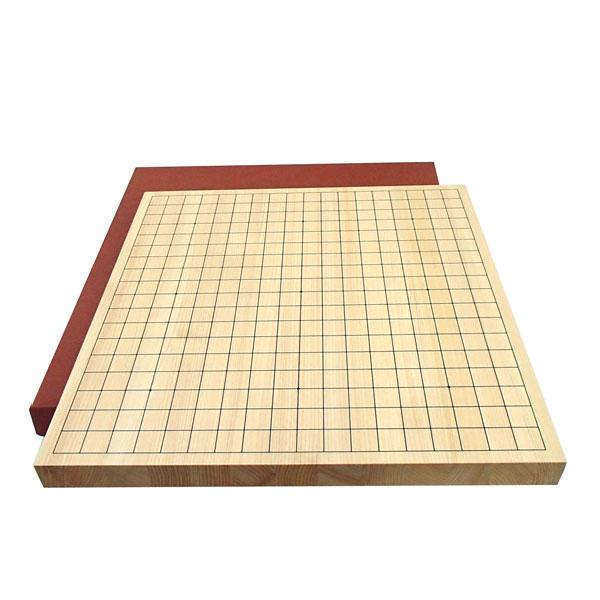 囲碁盤 芳香のある国産桧(ヒノキ)一寸(約3cm厚)卓上接合碁盤