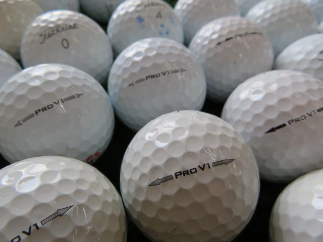 【送料無料】タイトリストPROV1 500個セット爆買い訳あり【中古】ロストボール ゴルフボール