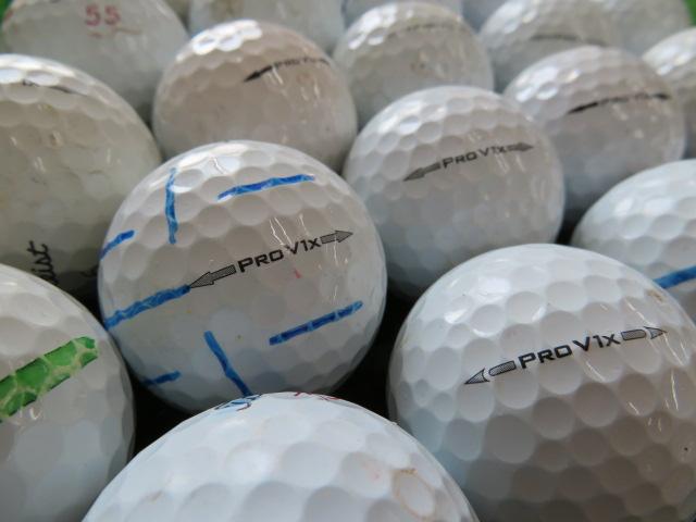 【送料無料】タイトリストProV1X 500個セット爆買い訳あり【中古】ロストボール ゴルフボール